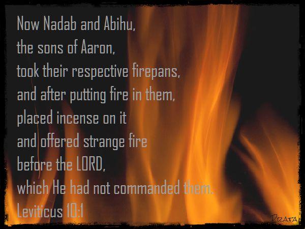 strange fire verse