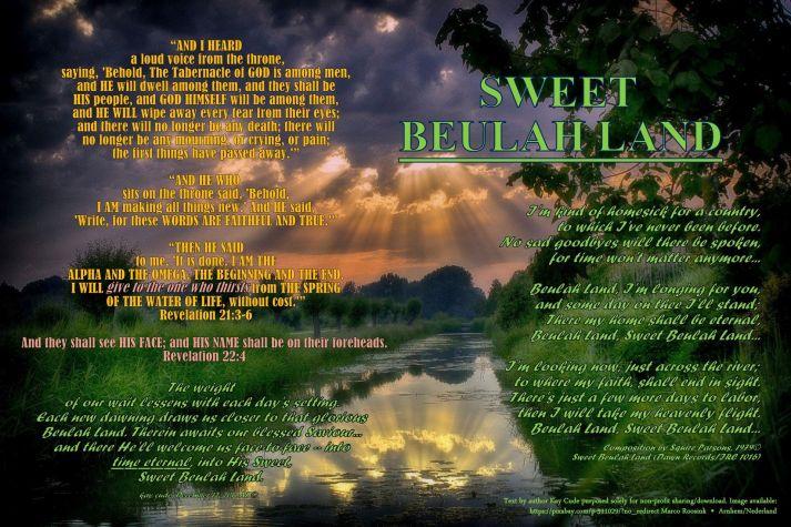 SWEET BEULAH LAND