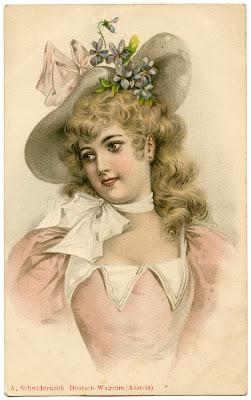 Vintage-Lady-Easter-Bonnet-GraphicsFairy2