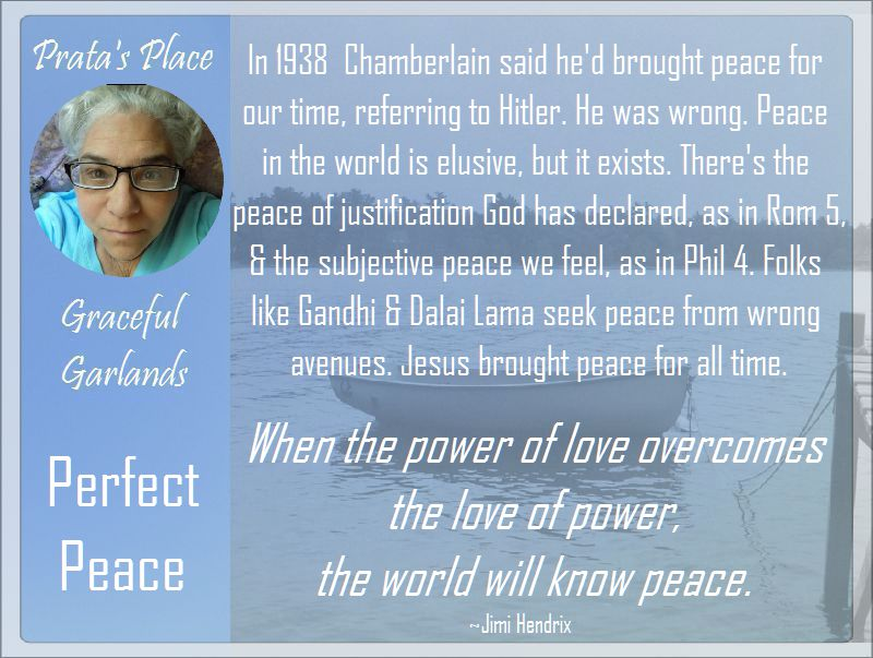 Prata Place Graceful Garlands 15 peace