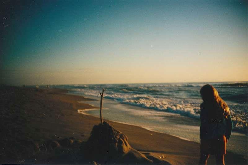 beach sandcastle