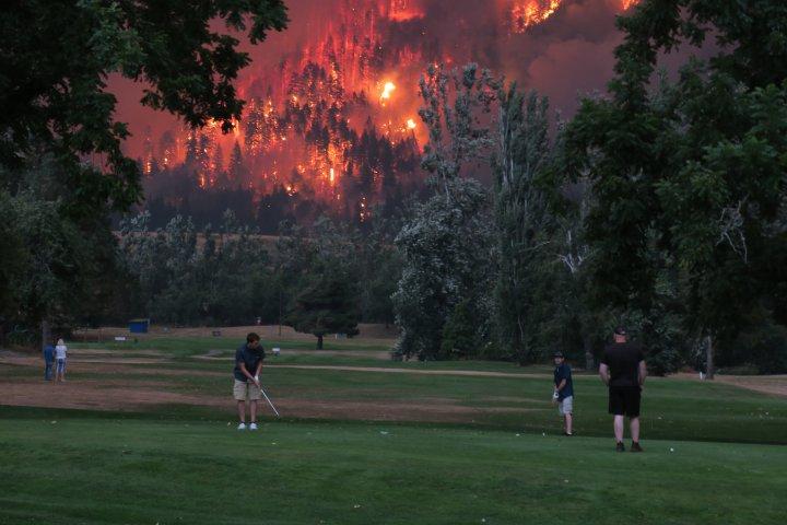 fire golf