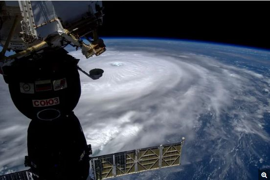irma from space