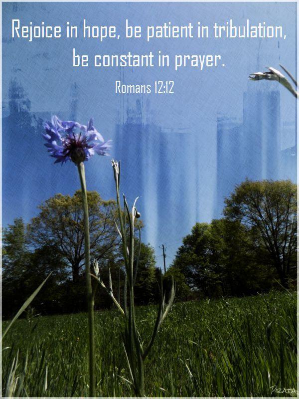 rejoice in hope prayer