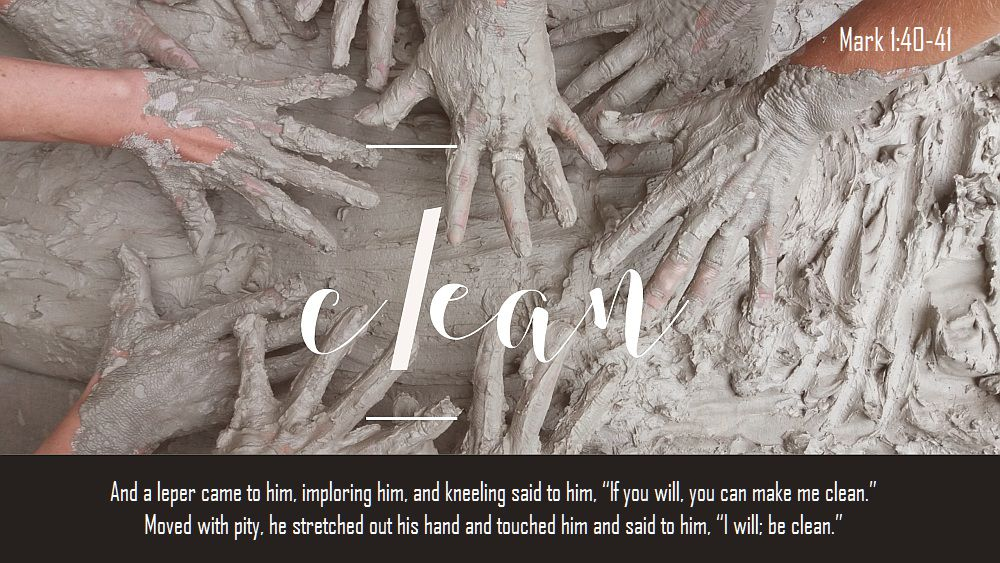 thirty days of Jesus day 23 clean