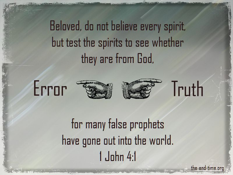 error and truth discernment