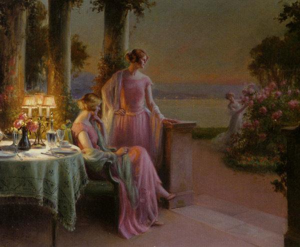 elegant-ladies-taking-tea-delphin-enjolras-