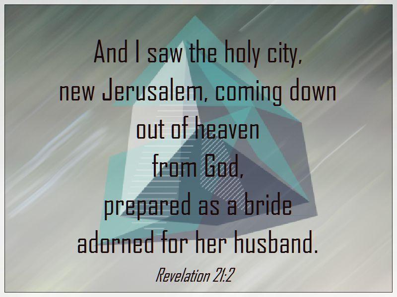 new jerusalem verse