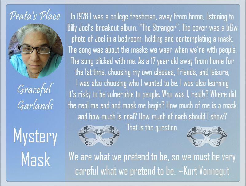 Prata Place Graceful Garlands 45 mystery mask
