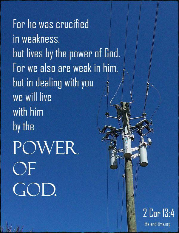 power of god verse