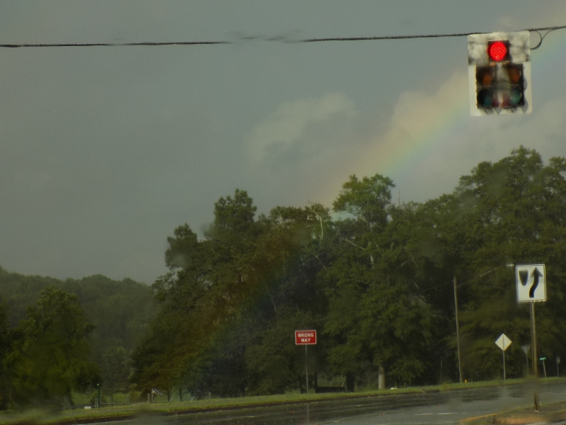 rainbow to ground