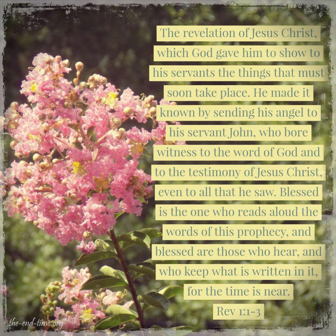 revelation 1 verse