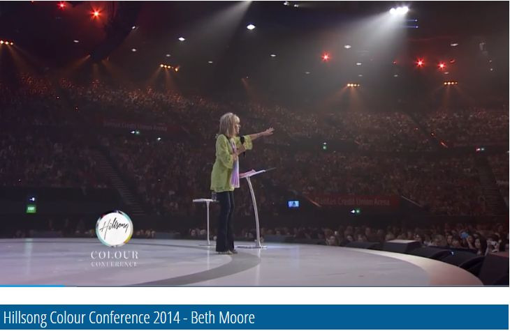 Beth Moore has a lot to answer for in normalizing women