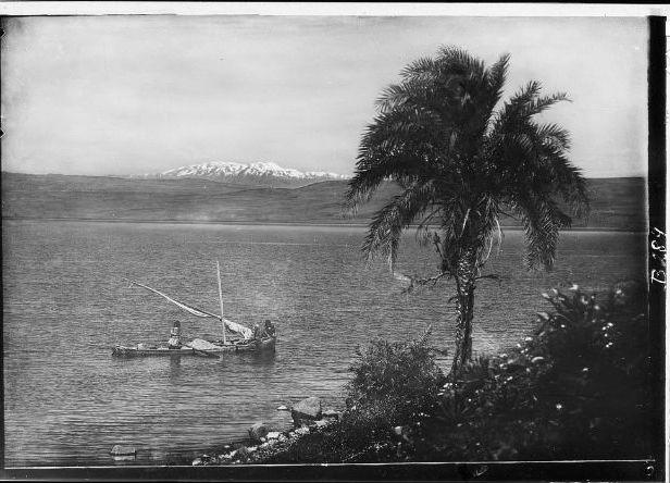 Galilean fishermen boat nets