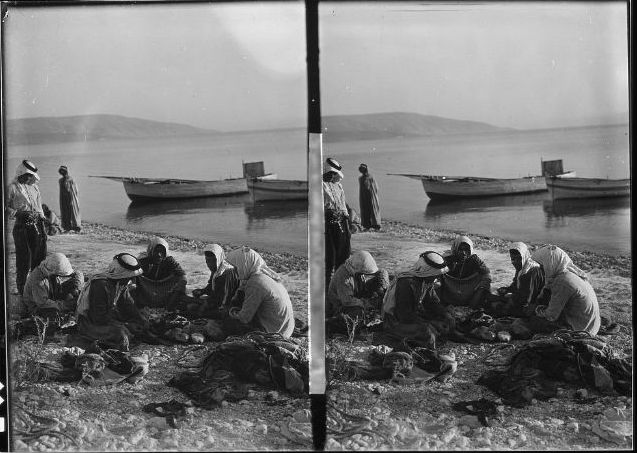 galilee fisherman