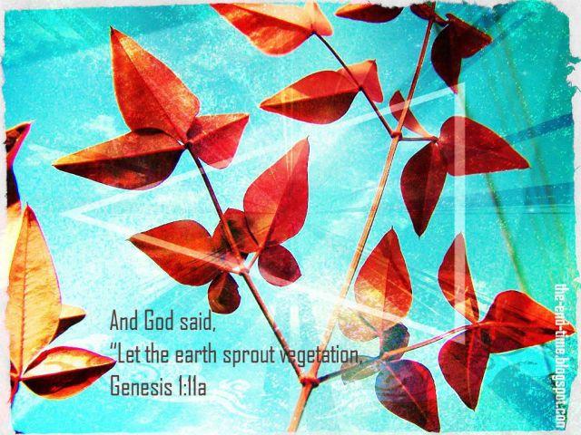 and god said genesis verse