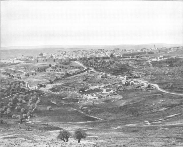 jerusalem from scopus