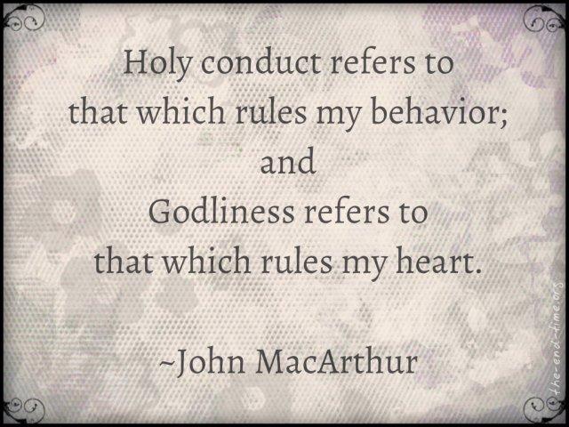 holiness godliness