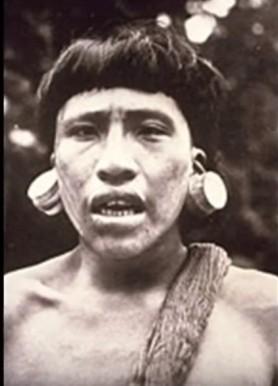 huaroni tribesman 1956
