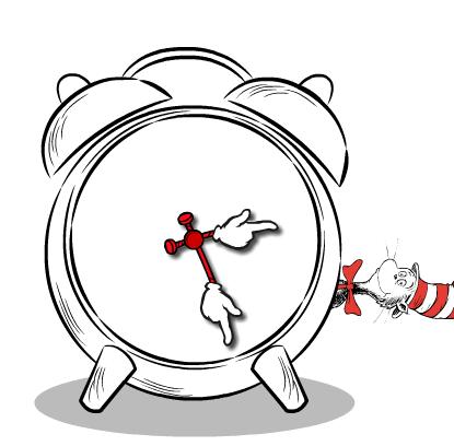 seuss clock