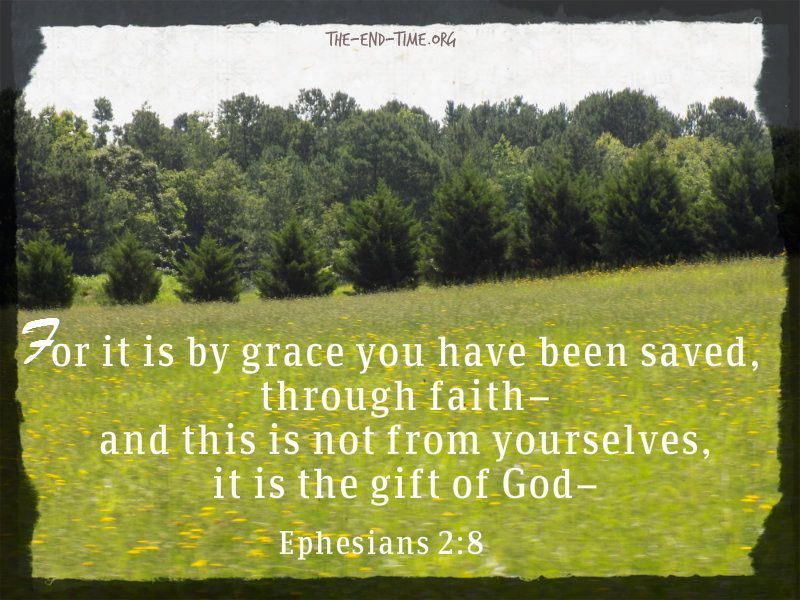 by faith you have been saved verse1