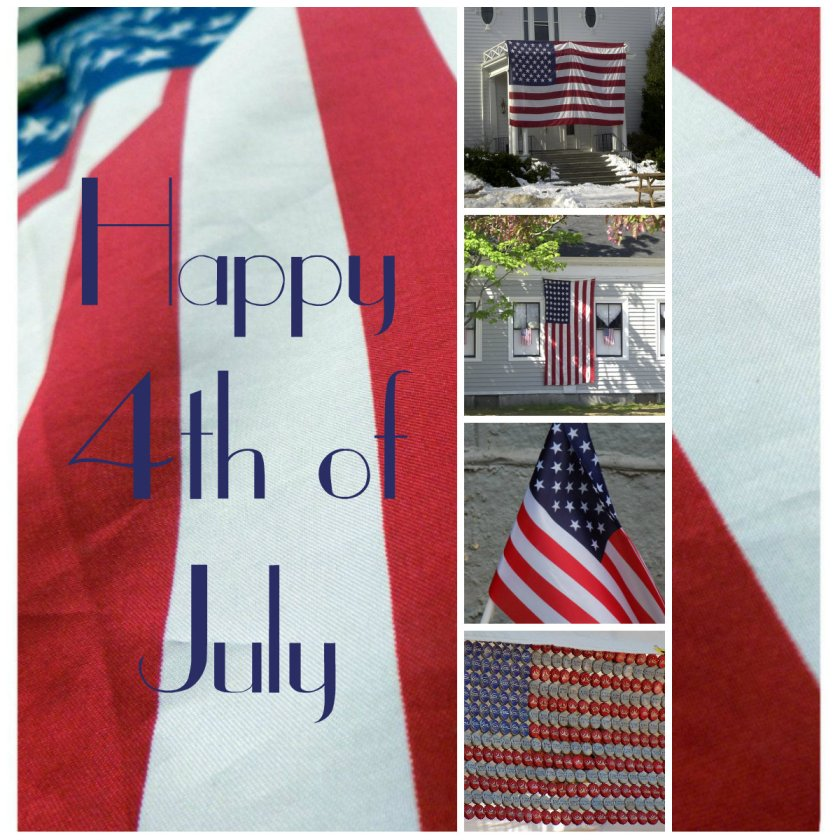 collage fourth of july