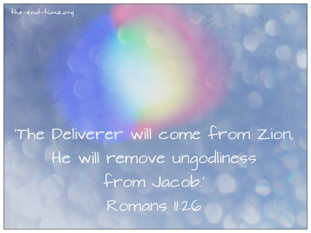 deliverer from zion verse