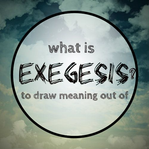 exegesis 5