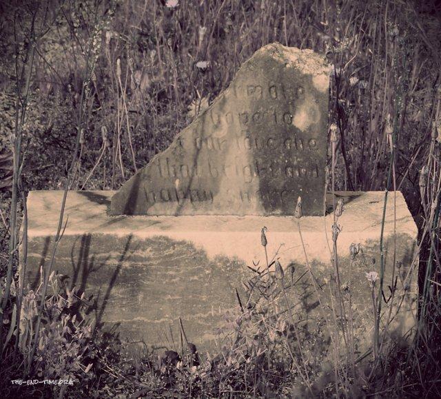 tombstone broken