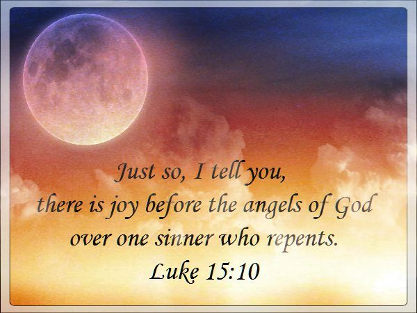 sinners repent verse