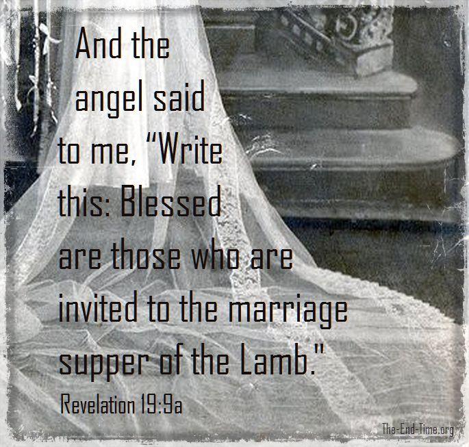 wedding supper verse