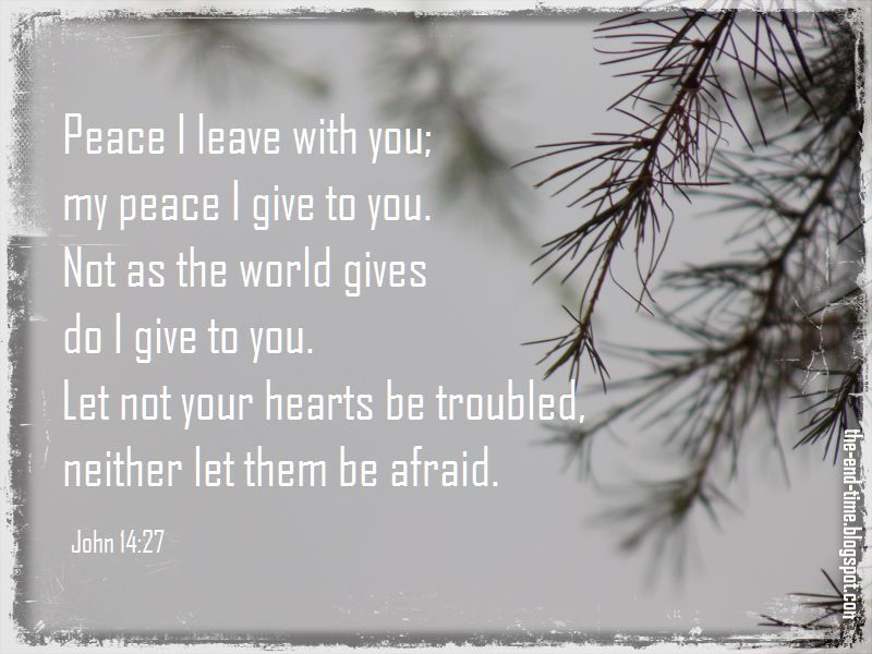 peace i give you verse